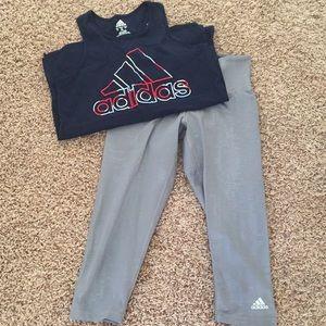 Adidas workout bundle.